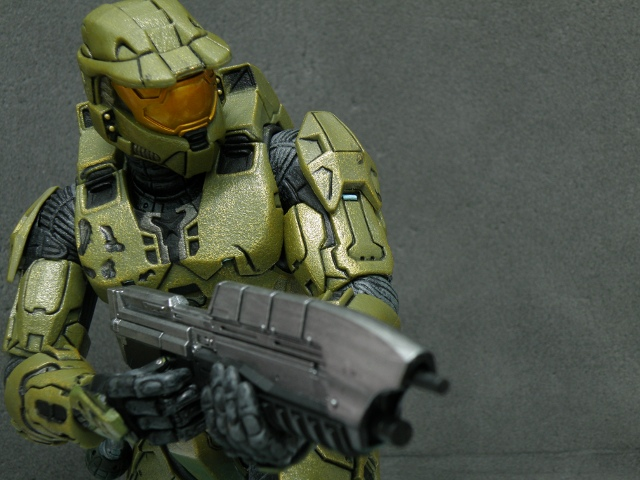 MasterChief strike pose.