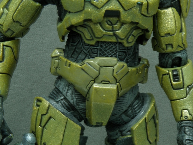 MasterChief torso details.