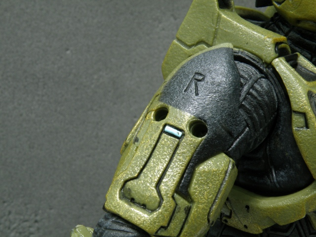 MasterChief upper arm armor removed.