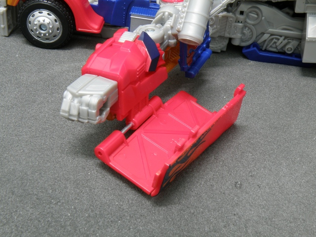 Optimus Prime Arm Transformation step 1.