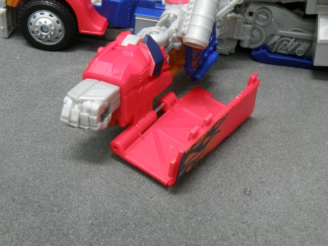 Optimus Prime Arm Transformation step 2.