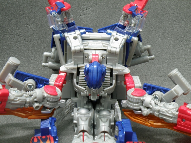 Optimus Prime Body Transformation step 13.