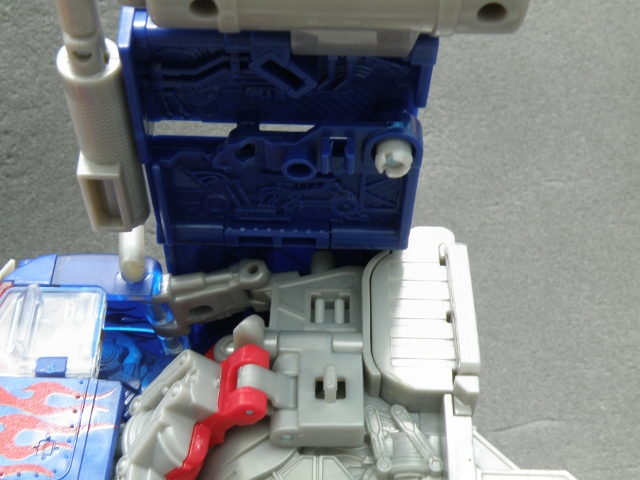 Optimus Prime Body Transformation step 2.
