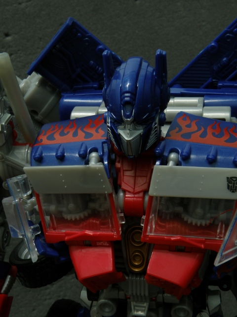 Robot mode Chest Details.