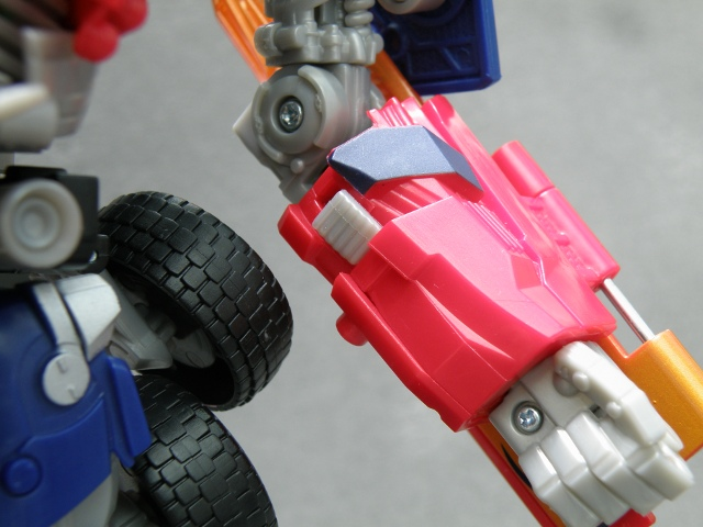 Optimus Prime Energon Sword Activation Switch.