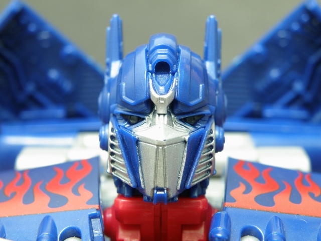 Optimus Prime Head Details Front.