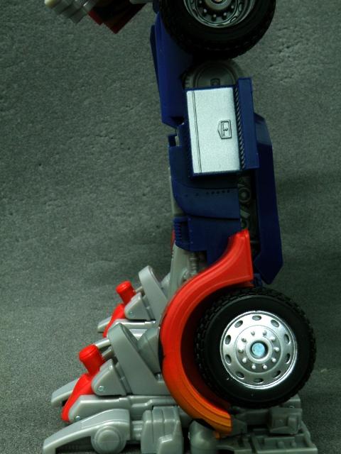 Optimus Prime Leg Details.