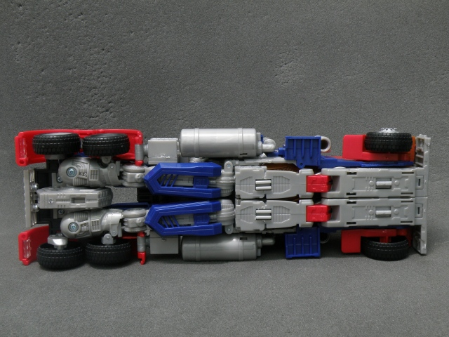 Optimus Prime SemiTruck Bottom view.