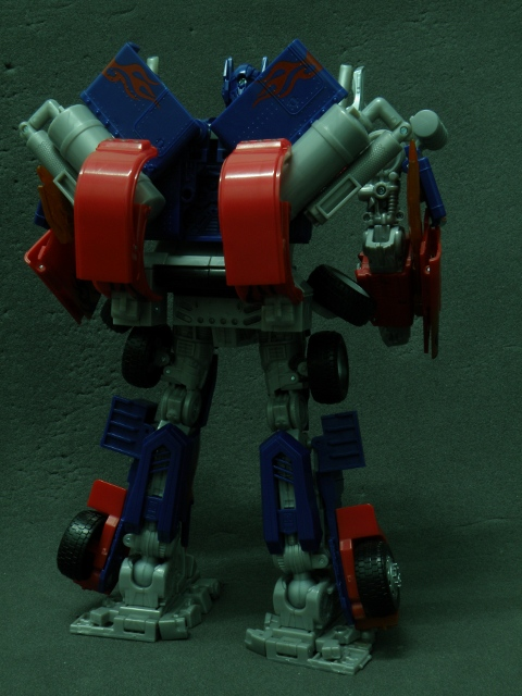 Optimus Prime Transformation FinalPhase 4.