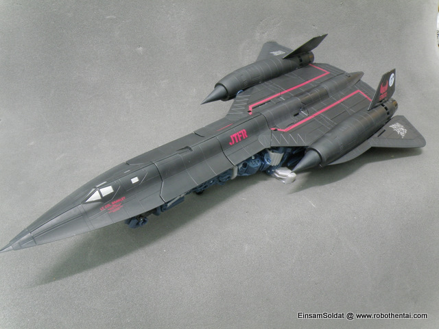 JetFire SR-71 overall view from the front.