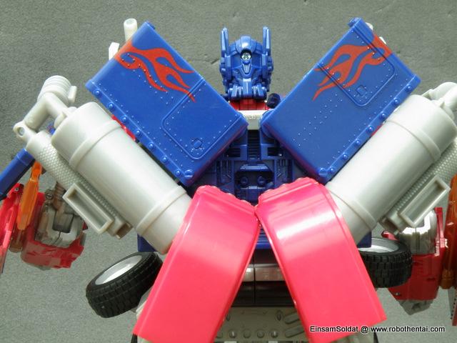 ROTF Optimus Prime Robot Back Details.