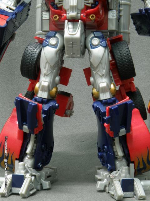 TFTM Optimus Prime Robot Leg Details Front.