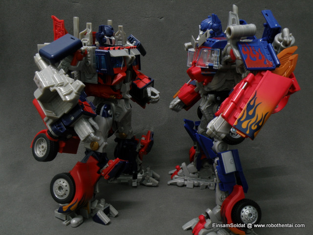 Optimus Prime Robot FaceOff.