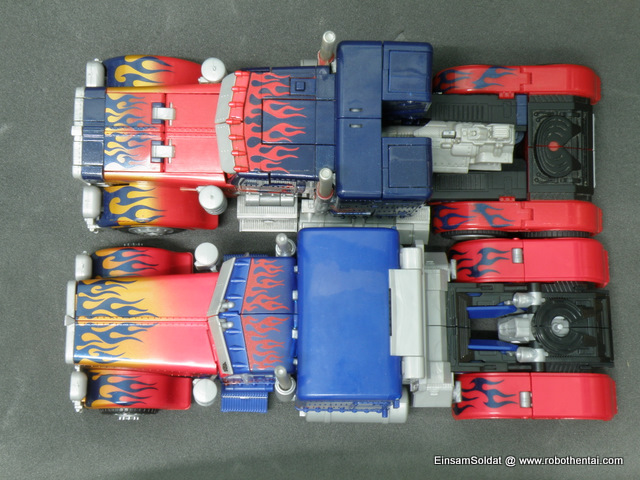 Optimus Prime Semi Truck Compare Top.