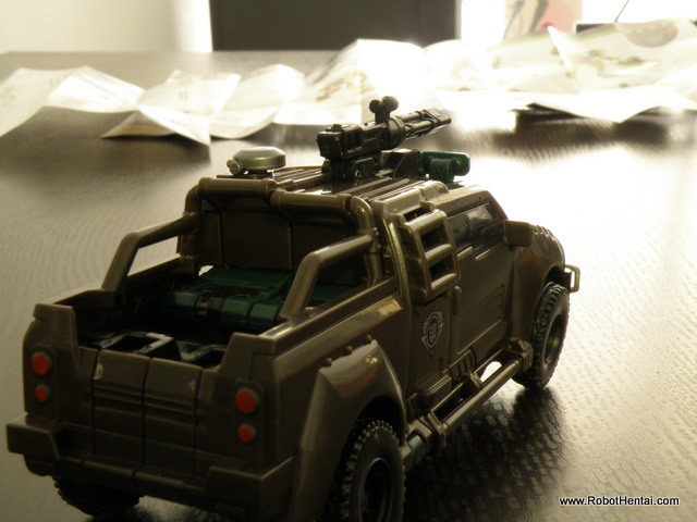 Back view of Brawn Alt Mode.