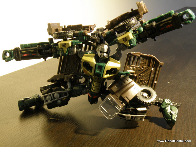 Brawn robot mode articulation limits.