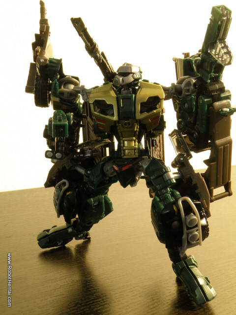 A routine for an Autobot scout.