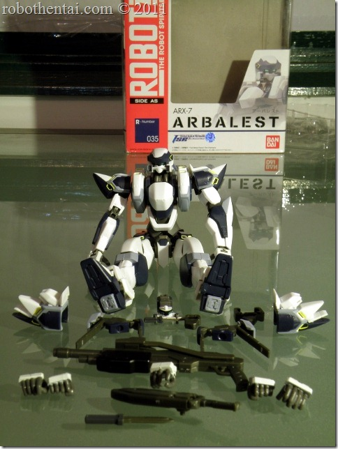 ARX7 Robot Damashii Accessories.