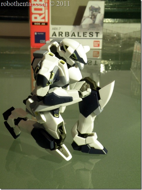 ARX7 Robot Damashii standby kneel.
