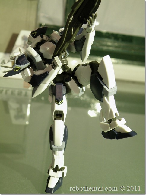 ARX7 one leg standing pose without support.